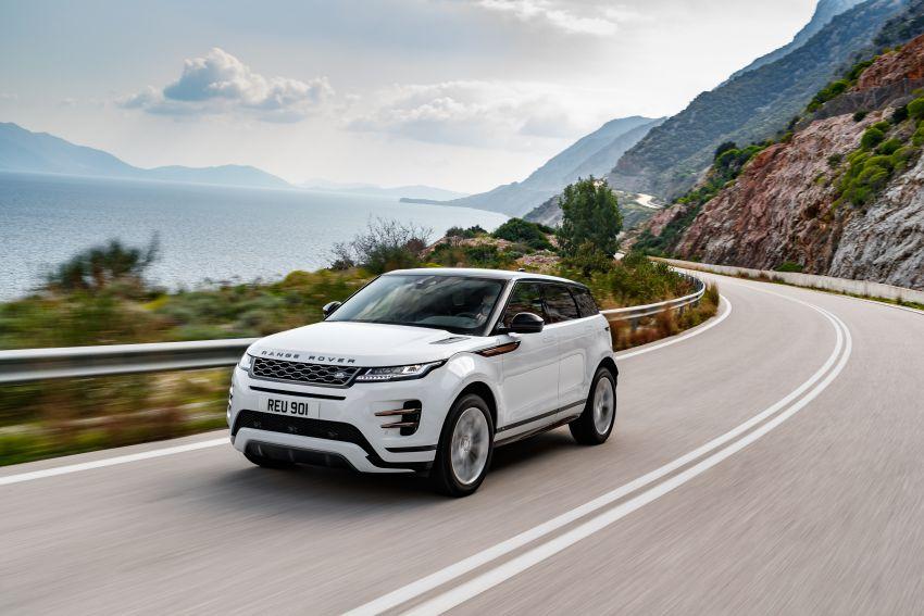 MEGA GALLERY: 2019 Range Rover Evoque in Greece Image #951872