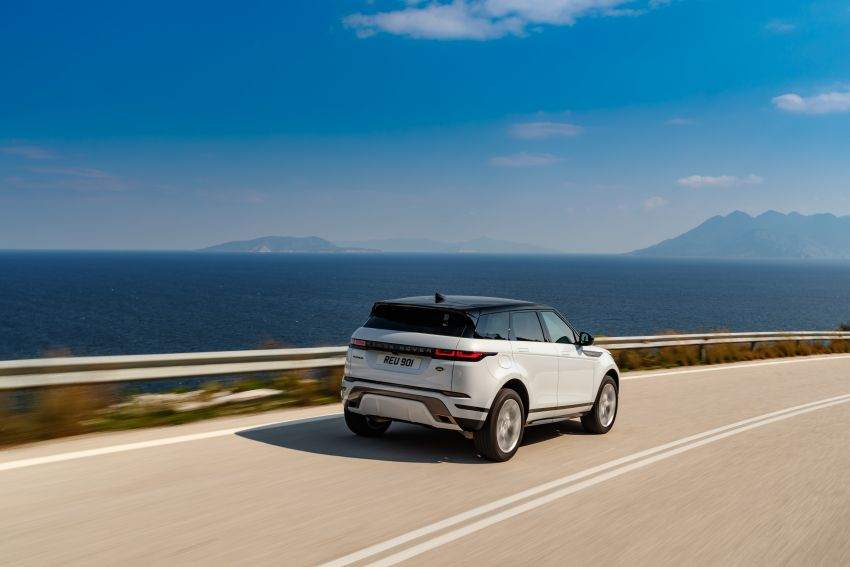 MEGA GALLERY: 2019 Range Rover Evoque in Greece Image #951873