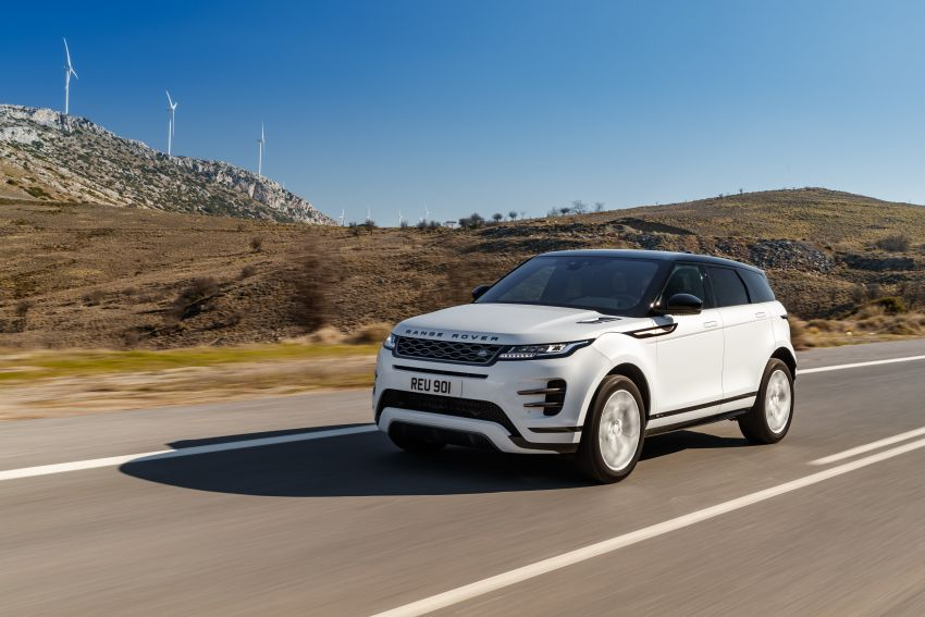MEGA GALLERY: 2019 Range Rover Evoque in Greece Image #951874