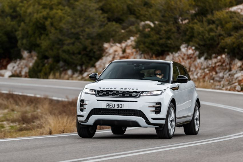MEGA GALLERY: 2019 Range Rover Evoque in Greece Image #951875