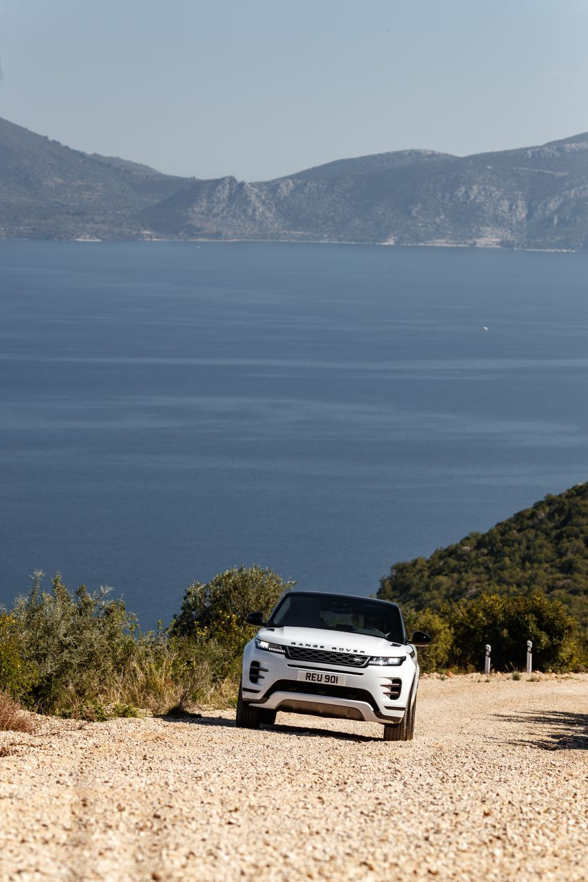 MEGA GALLERY: 2019 Range Rover Evoque in Greece Image #951877