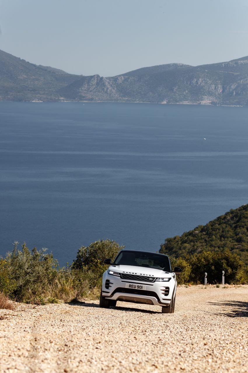 MEGA GALLERY: 2019 Range Rover Evoque in Greece Image #951877