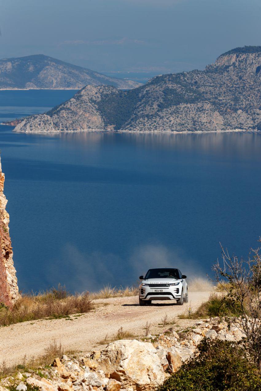 MEGA GALLERY: 2019 Range Rover Evoque in Greece Image #951878