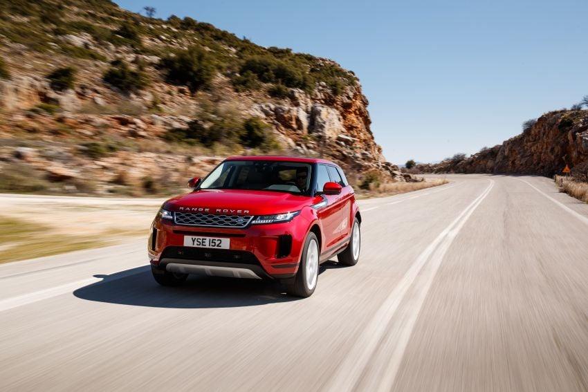 MEGA GALLERY: 2019 Range Rover Evoque in Greece Image #951800