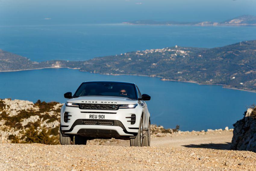 MEGA GALLERY: 2019 Range Rover Evoque in Greece Image #951881