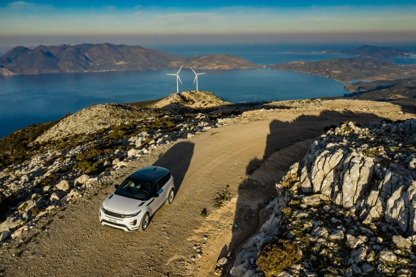MEGA GALLERY: 2019 Range Rover Evoque in Greece Image #951883