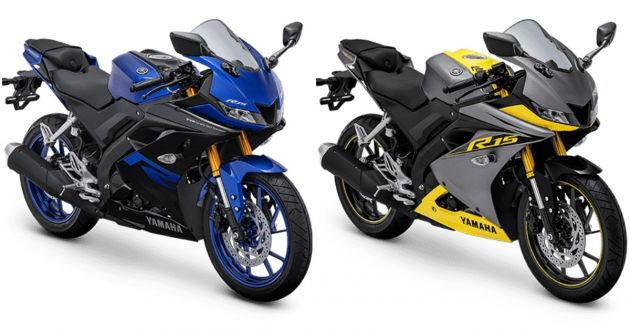 2019 Yamaha Yzf R15 Gets New Colours In Indonesia