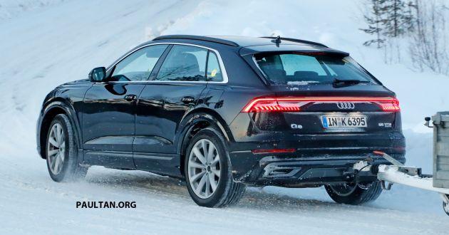 Spied Audi Q8 Plug In Hybrid Seen To Debut Soon