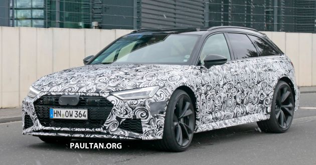 Spied 2020 Audi Rs6 Avant Spotted For The First Time