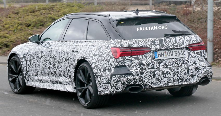 SPIED: 2020 Audi RS6 Avant spotted for the first time Image #945011
