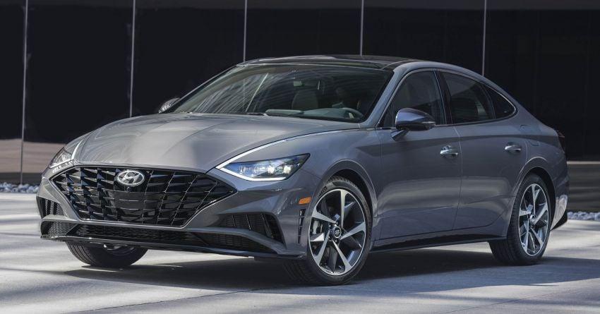 2020 Hyundai Sonata – eighth-gen model debuts in NY Image #949986