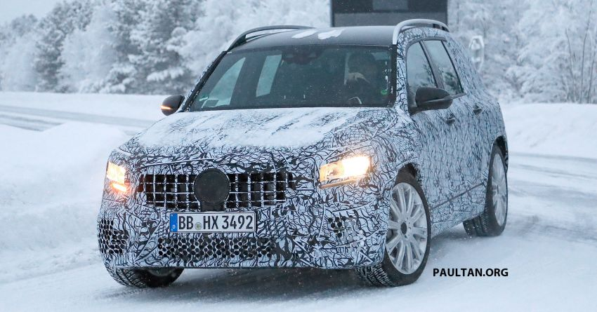 SPIED: Mercedes-AMG GLB35 spotted – 306 hp SUV! Image #941267