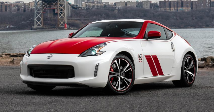 2020 Nissan 370Z 50th Anniversary Edition revealed in New York – a homage to the legendary #46 BRE racer Image #949319