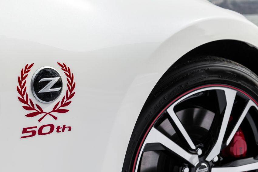 2020 Nissan 370Z 50th Anniversary Edition revealed in New York – a homage to the legendary #46 BRE racer Image #949332