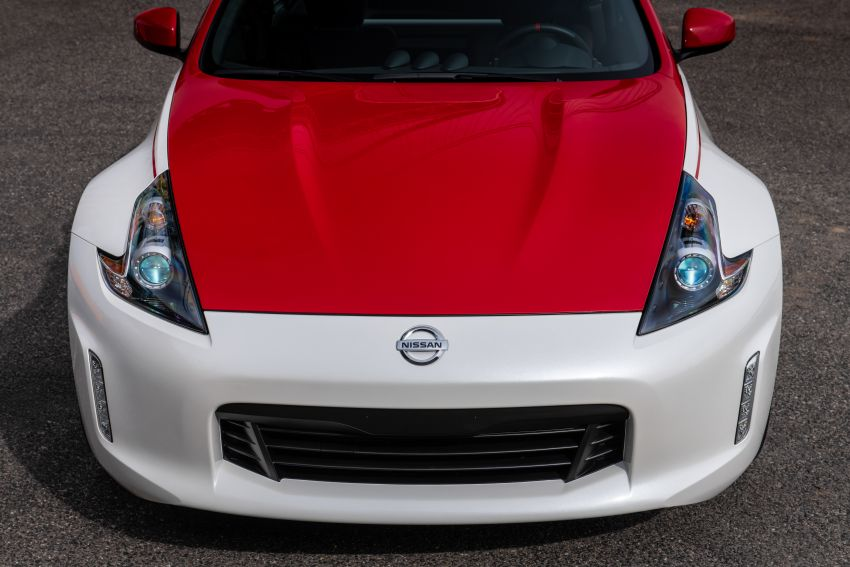 2020 Nissan 370Z 50th Anniversary Edition revealed in New York – a homage to the legendary #46 BRE racer Image #949334