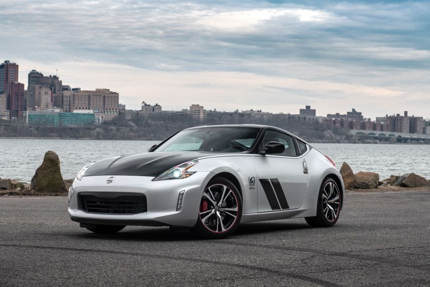 2020 Nissan 370Z 50th Anniversary Edition revealed in New York – a homage to the legendary #46 BRE racer Image #949337