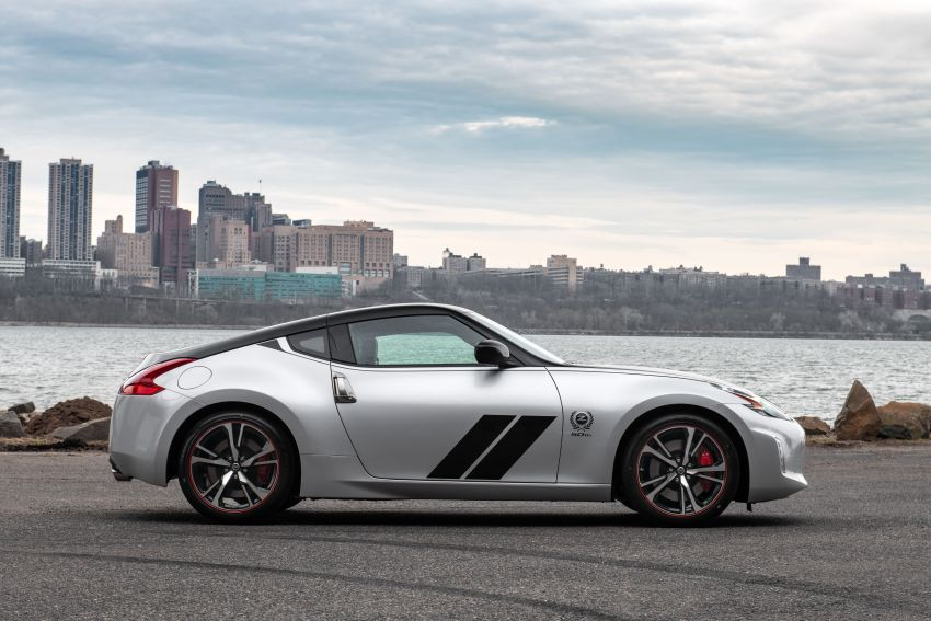 2020 Nissan 370Z 50th Anniversary Edition revealed in New York – a homage to the legendary #46 BRE racer Image #949338