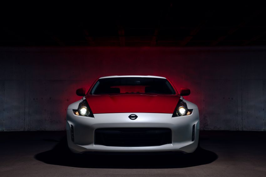 2020 Nissan 370Z 50th Anniversary Edition revealed in New York – a homage to the legendary #46 BRE racer Image #949339