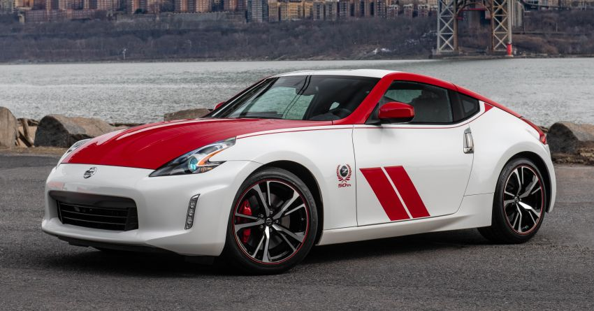 2020 Nissan 370Z 50th Anniversary Edition revealed in New York – a homage to the legendary #46 BRE racer Image #949320