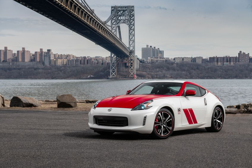 2020 Nissan 370Z 50th Anniversary Edition revealed in New York – a homage to the legendary #46 BRE racer Image #949321