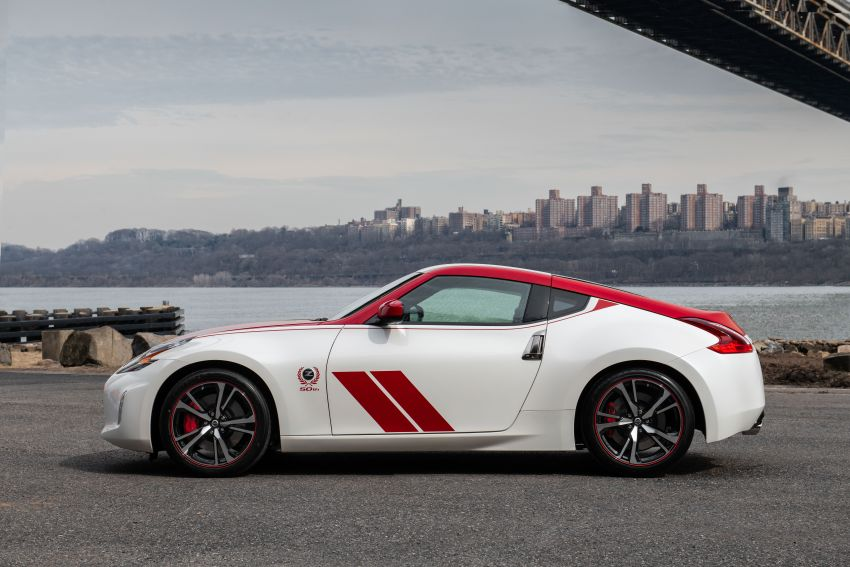 2020 Nissan 370Z 50th Anniversary Edition revealed in New York – a homage to the legendary #46 BRE racer Image #949322