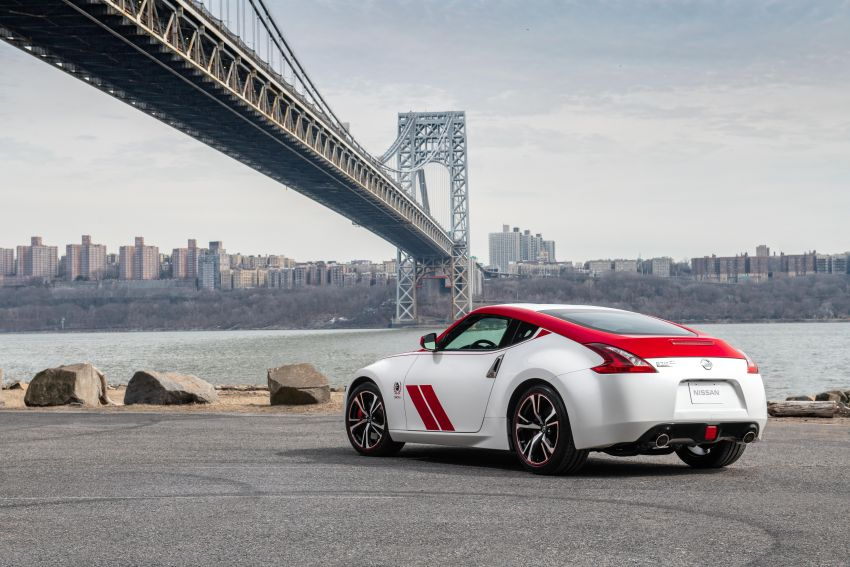 2020 Nissan 370Z 50th Anniversary Edition revealed in New York – a homage to the legendary #46 BRE racer Image #949324