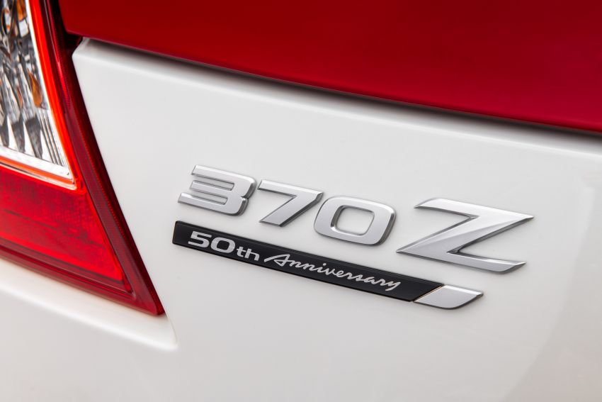 2020 Nissan 370Z 50th Anniversary Edition revealed in New York – a homage to the legendary #46 BRE racer Image #949325