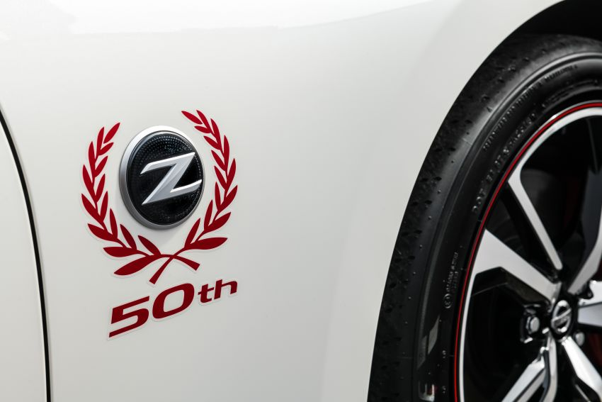 2020 Nissan 370Z 50th Anniversary Edition revealed in New York – a homage to the legendary #46 BRE racer Image #949326