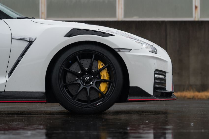 2020 Nissan GT-R Nismo sheds weight, improves grip Image #948668