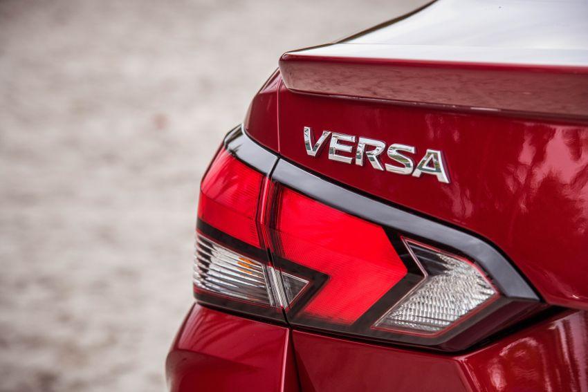 2020 Nissan Versa – next-generation Almera revealed Image #947194