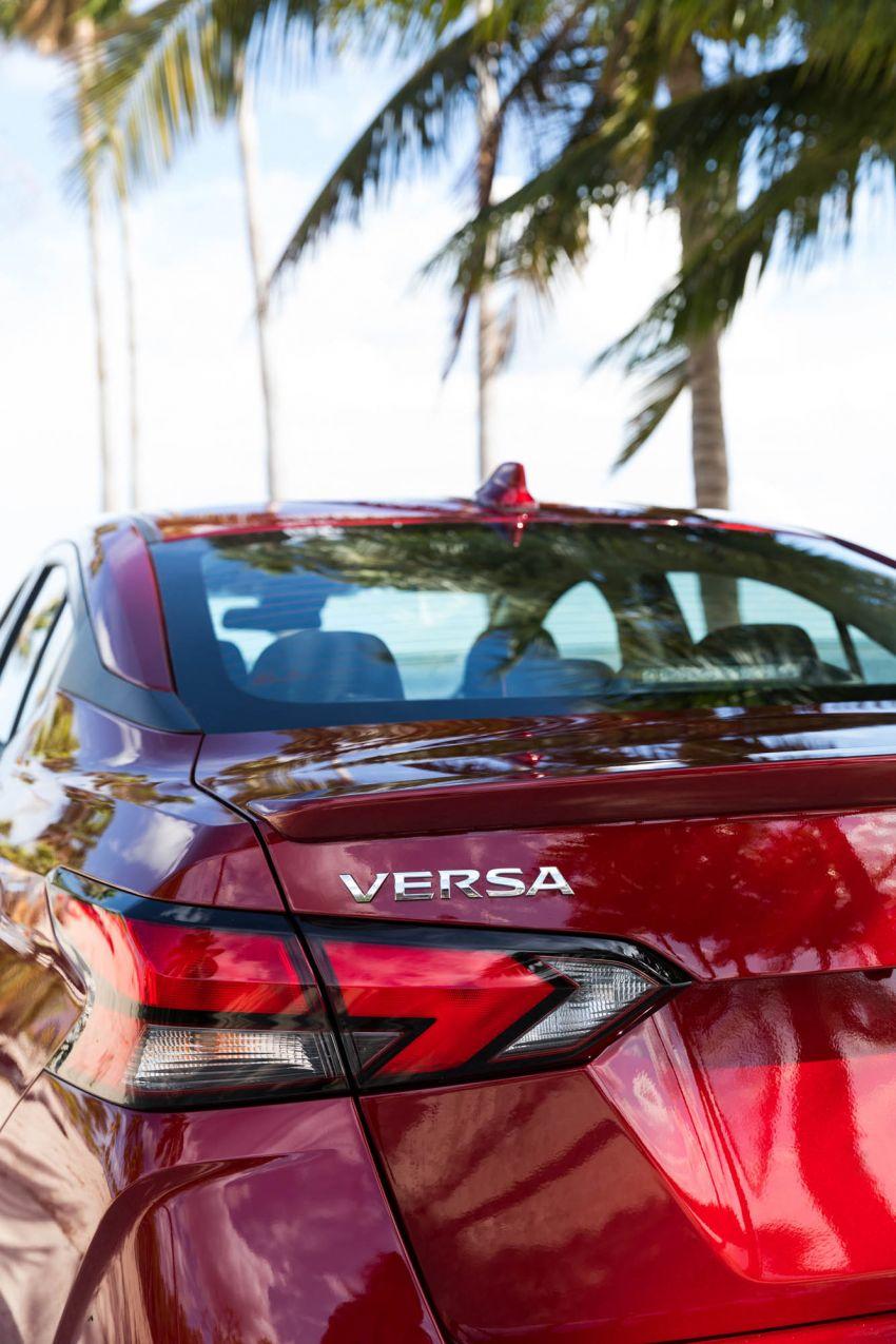 2020 Nissan Versa – next-generation Almera revealed Image #947202