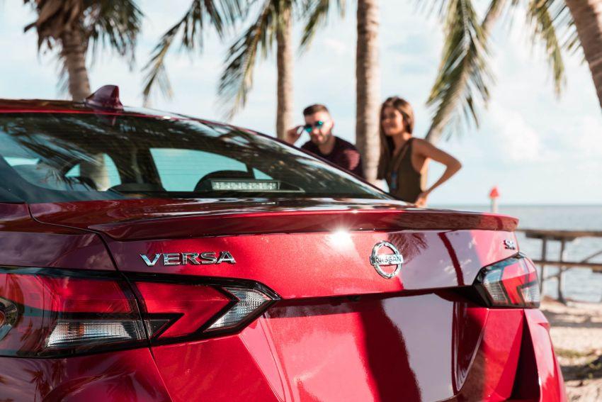 2020 Nissan Versa – next-generation Almera revealed Image #947215