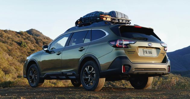 2020 Subaru Outback - sixth-gen unveiled at NYIAS