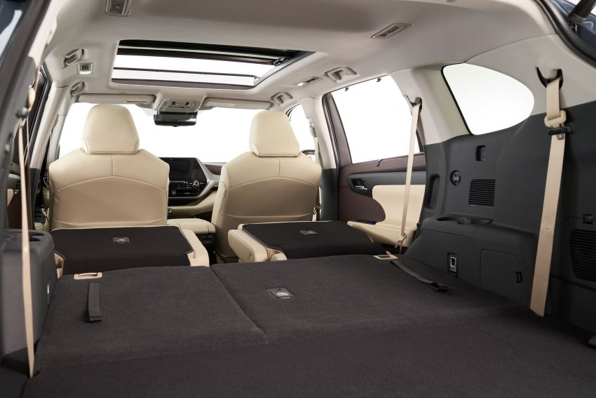 2020 Toyota Highlander debuts at NYIAS – three-row SUV gains TNGA platform, 3.5L V6 and 2.5L hybrid Image #948729