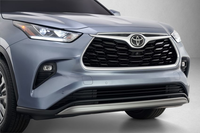 2020 Toyota Highlander debuts at NYIAS – three-row SUV gains TNGA platform, 3.5L V6 and 2.5L hybrid Image #948719
