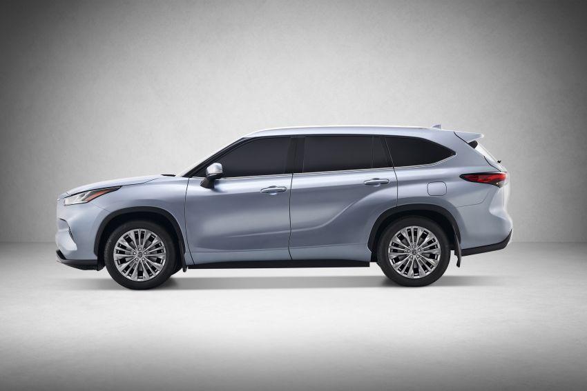 2020 Toyota Highlander debuts at NYIAS – three-row SUV gains TNGA platform, 3.5L V6 and 2.5L hybrid Image #948720