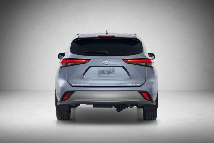 2020 Toyota Highlander debuts at NYIAS – three-row SUV gains TNGA platform, 3.5L V6 and 2.5L hybrid Image #948724
