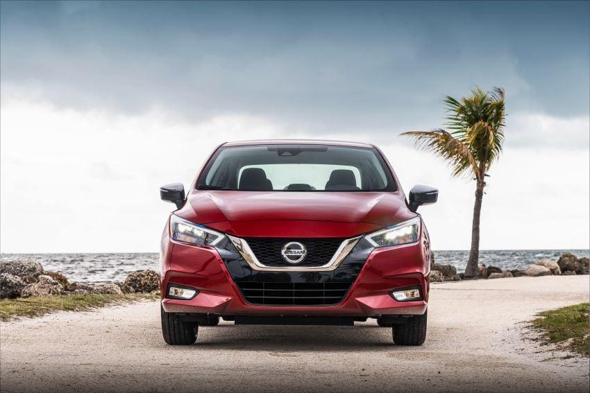 Nissan Versa 2020 didedahkan – Almera pasaran Amerika dengan enjin 1.6 liter, Safety Shield 360 Image #947242