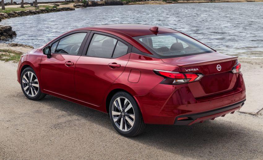 Nissan Versa 2020 didedahkan – Almera pasaran Amerika dengan enjin 1.6 liter, Safety Shield 360 Image #947237