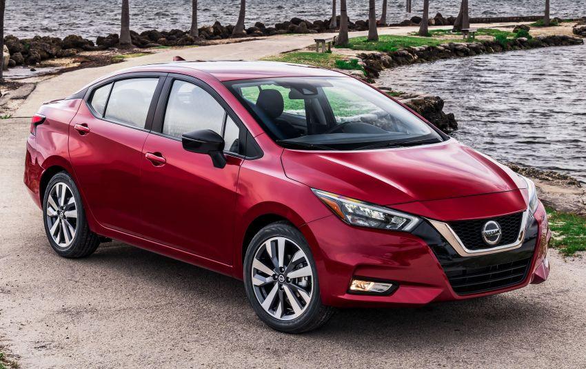 Nissan Versa 2020 didedahkan – Almera pasaran Amerika dengan enjin 1.6 liter, Safety Shield 360 Image #947236