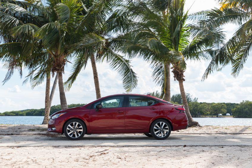 Nissan Versa 2020 didedahkan – Almera pasaran Amerika dengan enjin 1.6 liter, Safety Shield 360 Image #947232