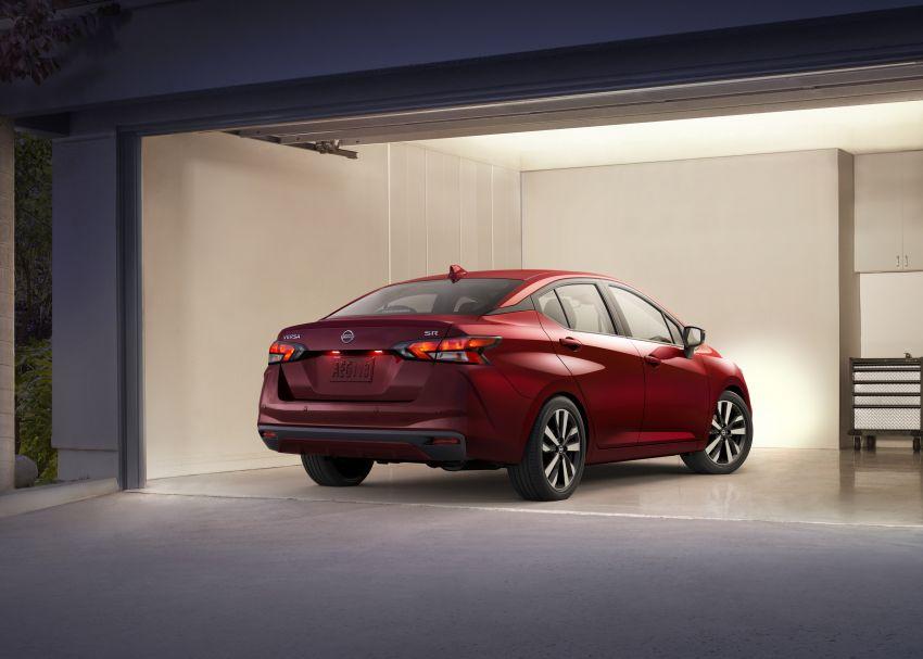 Nissan Versa 2020 didedahkan – Almera pasaran Amerika dengan enjin 1.6 liter, Safety Shield 360 Image #947231