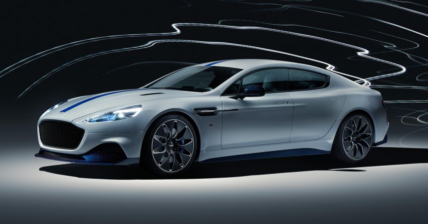 Aston Martin Rapide E debuts in Shanghai – hot EV makes  610 PS and 950 Nm, limited to just 155 units Image #948429