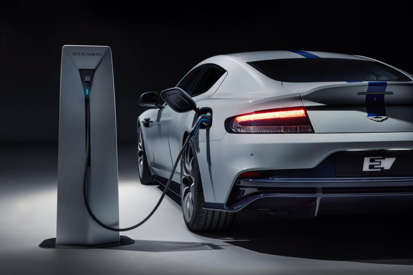 Aston Martin Rapide E debuts in Shanghai – hot EV makes  610 PS and 950 Nm, limited to just 155 units Image #948437