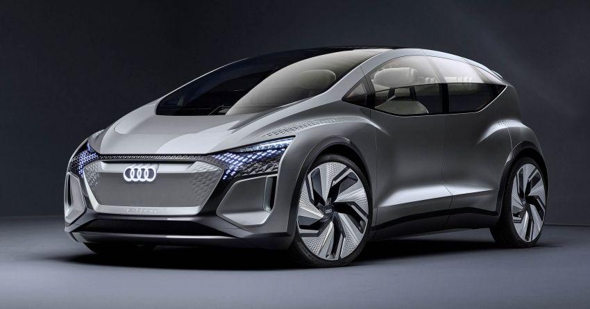 Audi AI:ME – kereta autonomous untuk bandar besar Image #948037