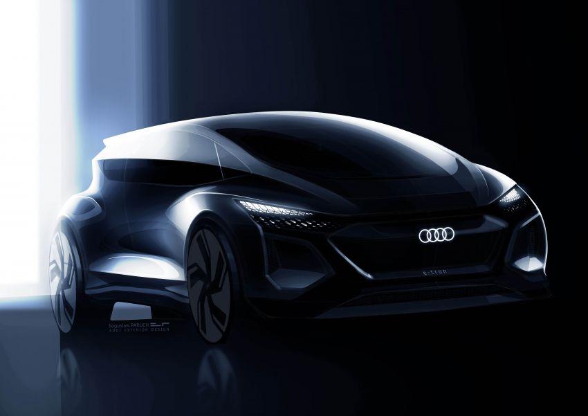 Audi AI:ME – kereta autonomous untuk bandar besar Image #948067