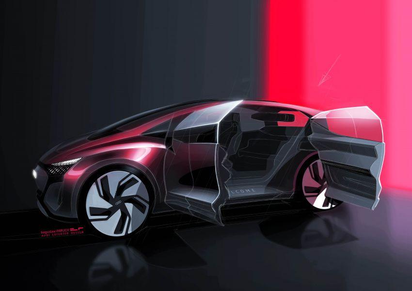 Audi AI:ME – kereta autonomous untuk bandar besar Image #948080