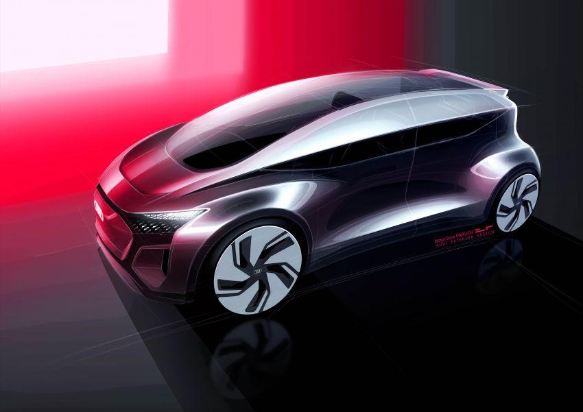 Audi AI:ME – kereta autonomous untuk bandar besar Image #948084