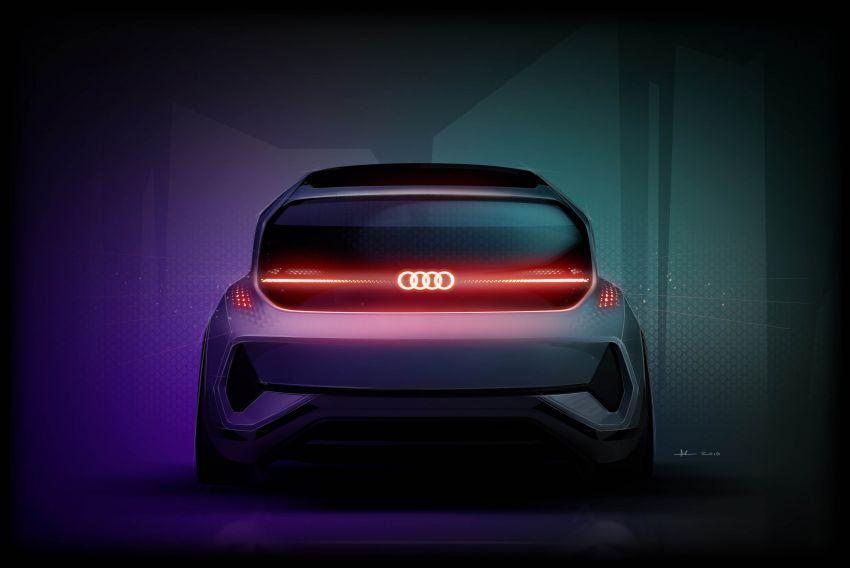 Audi AI:ME – kereta autonomous untuk bandar besar Image #948089