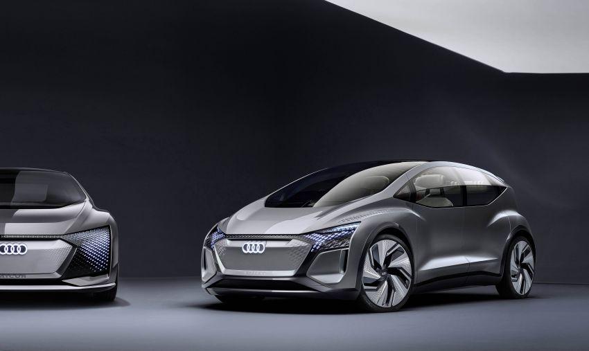 Audi AI:ME – kereta autonomous untuk bandar besar Image #948041